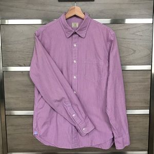 J. Crew Pinstripe Dress Shirt